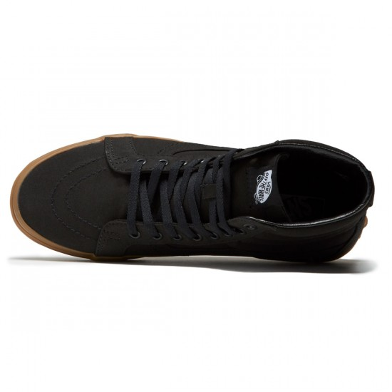 Vans SK8-Hi Reissue Shoes - Black/Light Gum - 8.0
