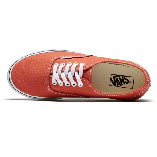 Vans Original Authentic Shoes - Autumn Glaze/True White - 8.0