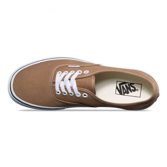 Vans Original Authentic Shoes - Tigers Eye/True White - 8.0