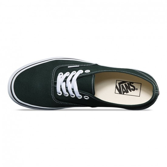 Vans Original Authentic Shoes - Scarab/True White - 8.0