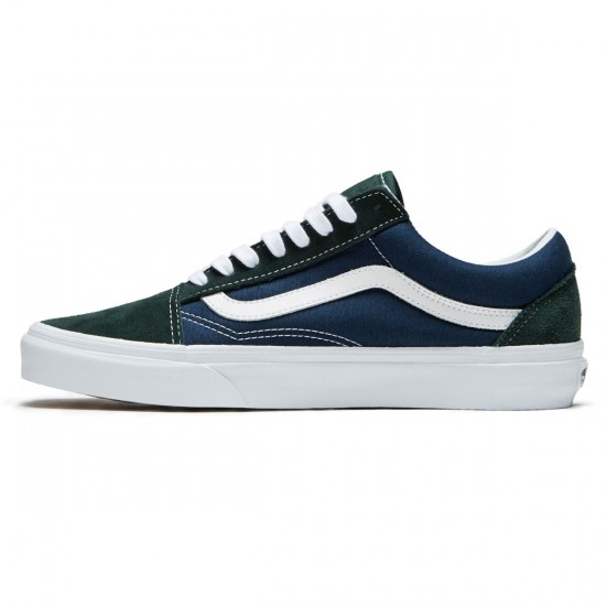 Vans Old Skool Shoes - Scarab/Dress Blues - 8.0