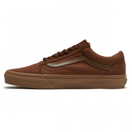 Vans Old Skool Shoes - Dark Earth/Gum - 8.0
