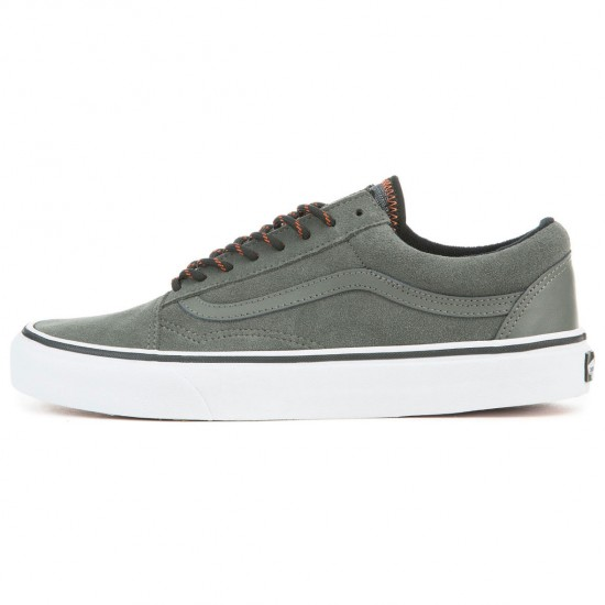 Vans Old Skool Shoes - Gunmetal/Autumn Glaze - 8.0