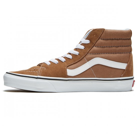Vans Sk8-Hi Shoes - Tigers Eye/True White - 8.0