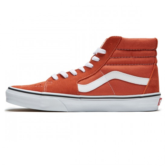 Vans Sk8-Hi Shoes - Autumn Glaze/True White - 8.0