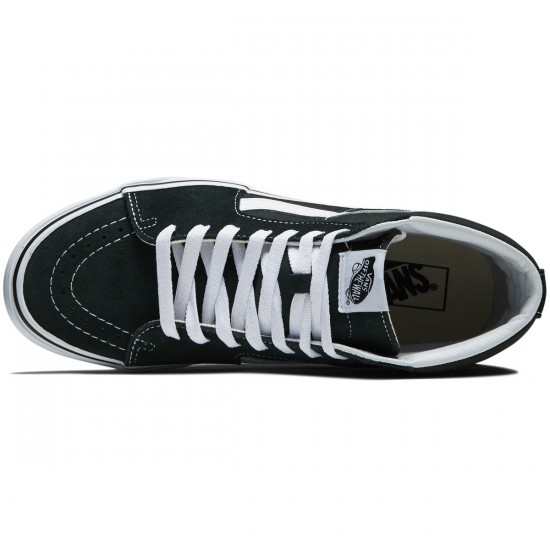 Vans Sk8-Hi Shoes - Scarab/True White