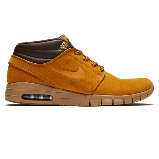 pretty nice 390f9 7d42a Nike SB Stefan Janoski Max Mid Premium Shoes - Bronze/Bronze/Gum Light Brown
