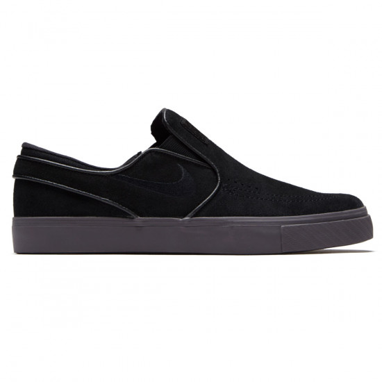 4fb4ef61a42 Nike Zoom Stefan Janoski Slip-On Shoes - Black Black Thunder Grey -