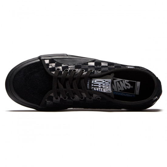 Vans AV Classic Pro Shoes - Hairy Suede Black - 8.0