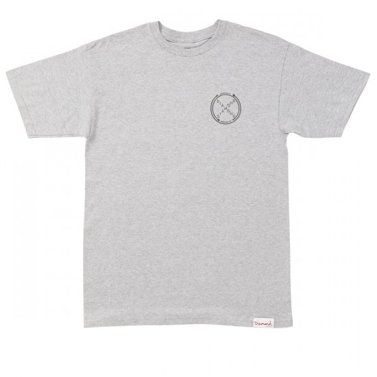 Diamond Supply Co. Crossed Up T-Shirt - Athletic Heather