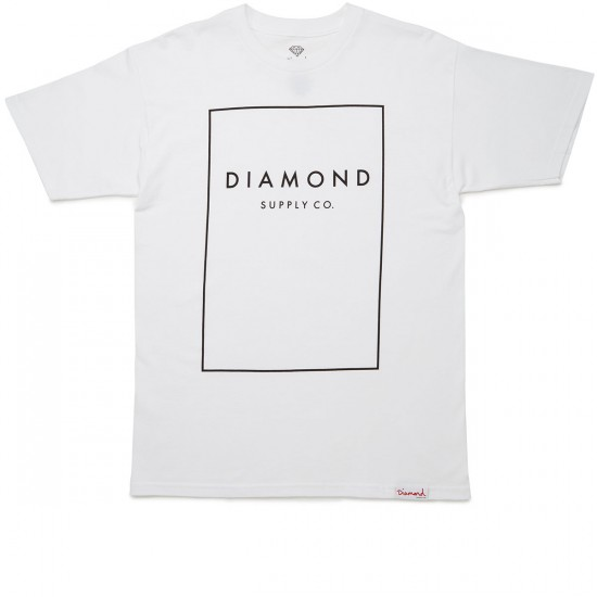 Diamond Supply Co. Boxed In T-Shirt - White