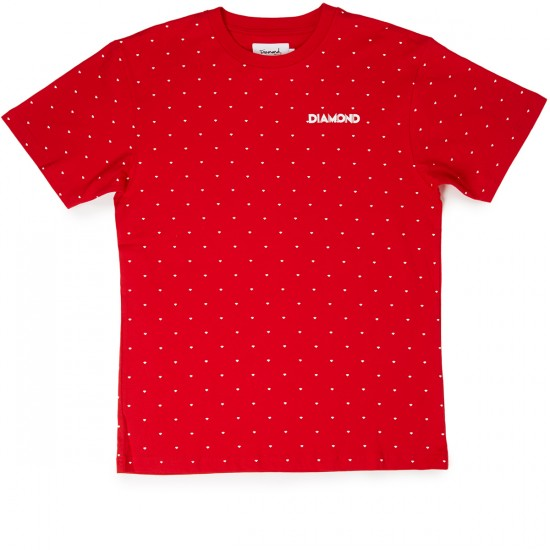 Diamond Supply Co. Deco Repeat T-Shirt - Red