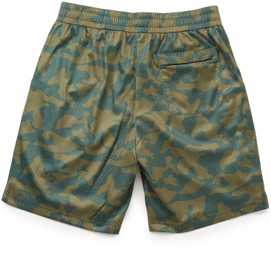 Diamond Supply Co. Diamond Arch Basketball Shorts - Olive Camo