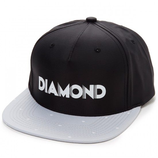 Diamond Supply Co. Deco Clipback Hat - Black/Grey