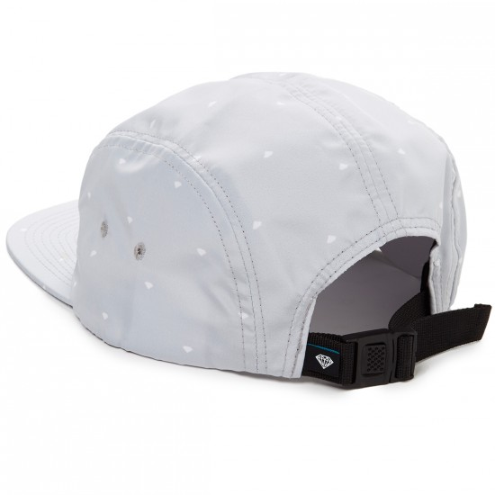 Diamond Supply Co. Deco 5 Panel Hat - Grey