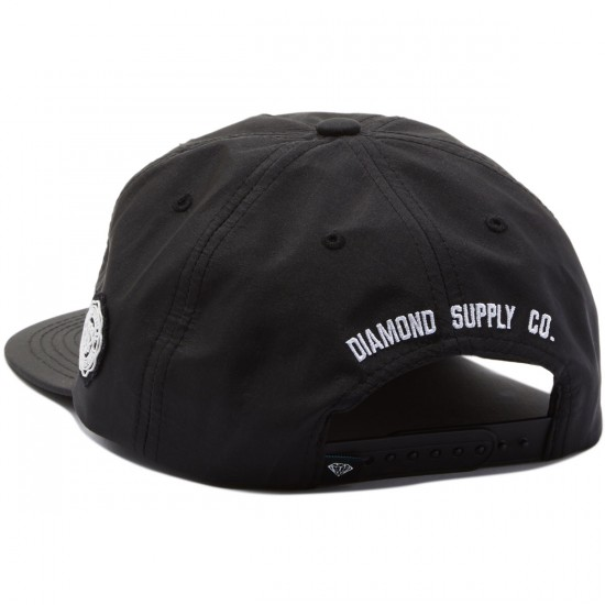 Diamond Supply Co. Un Polo Fall 2016 Snapback Hat - Black