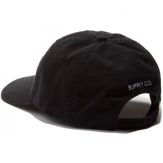 Diamond Supply Co. Diamond Sports Strapback Hat - Black