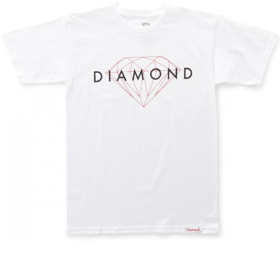 Diamond Supply Co. Brilliant Fall 2016 T-Shirt - White