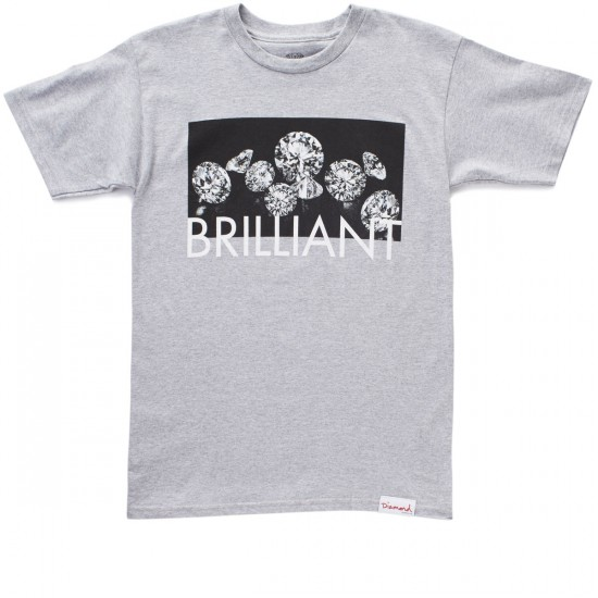 Diamond Supply Co. Jewels T-Shirt - Heather Grey