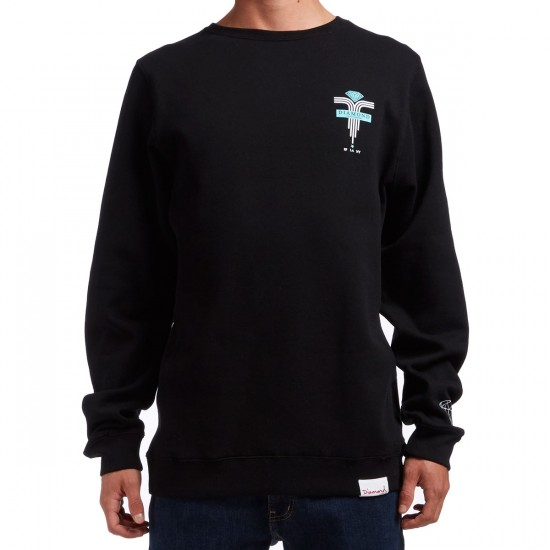 Diamond Supply Co. Mach 5 Crewneck Sweatshirt - Black