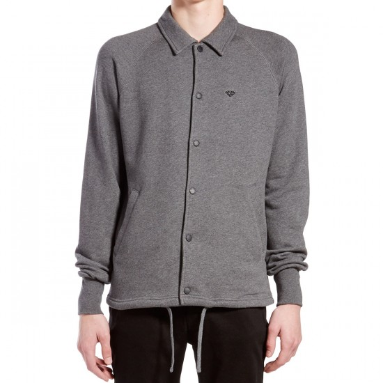 Diamond Supply Co. Brilliant Coaches Jacket - Heather Charcoal