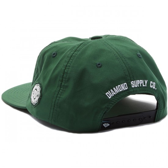 Diamond Supply Co. Un Polo Snapback Hat - Green