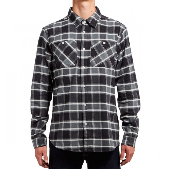 Diamond Supply Co. Radiant Flannel Plaid Shirt - Black