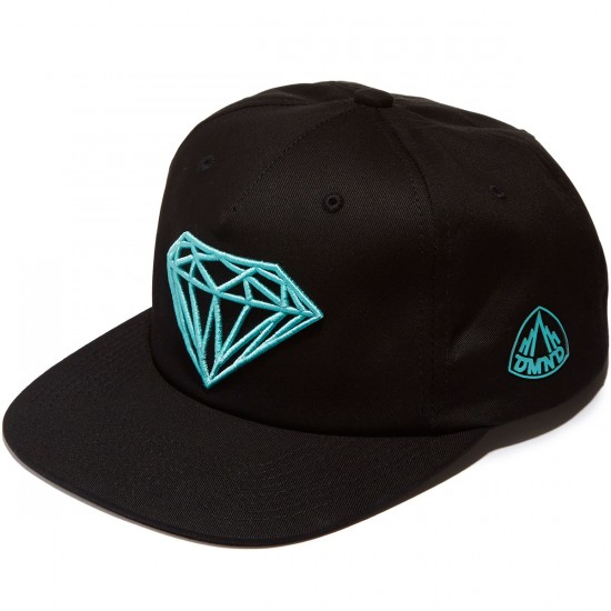 Diamond Supply Co. Brilliant Snapback Hat - Black