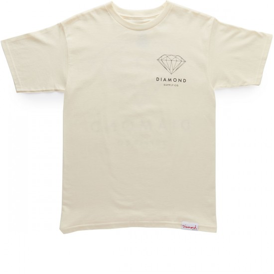 Diamond Supply Co. Brilliant Diamond T-Shirt - Cream