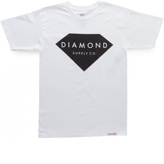 Diamond Supply Co. Solid Stone T-Shirt - White