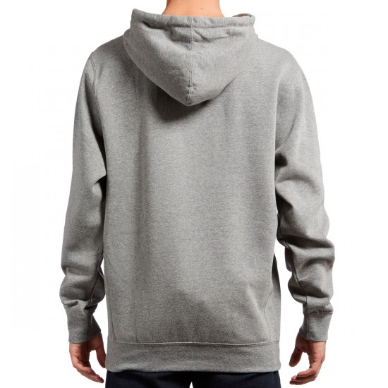 Diamond Supply Co. Champagne Embroidery Hoodie - Gun Metal Heather
