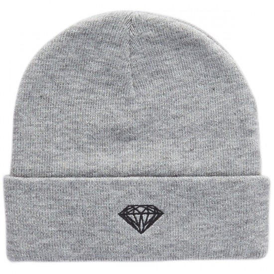 Diamond Supply Co. Brilliant Beanie - Heather Grey