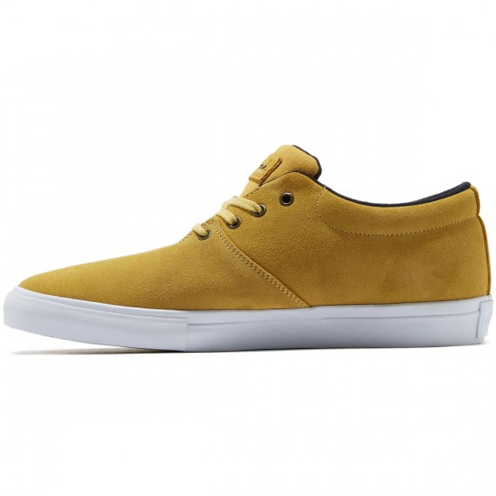 Diamond Supply Co. Torey Shoes - Mustard Suede - 8.0