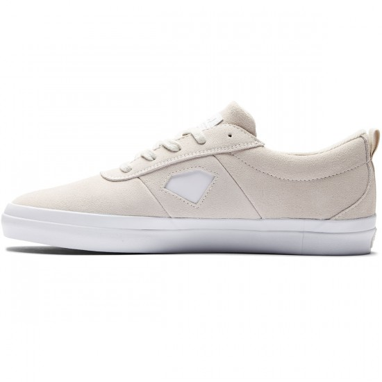 Diamond Supply Co. Icon Shoes - White Suede - 8.0