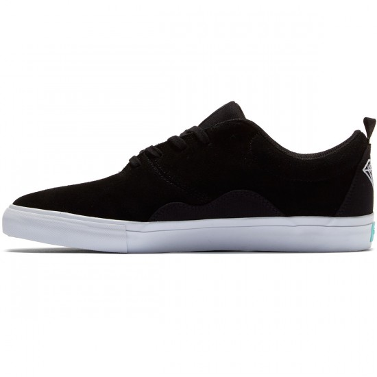 Diamond Supply Co. Lafayette Shoes - Black Suede - 8.5