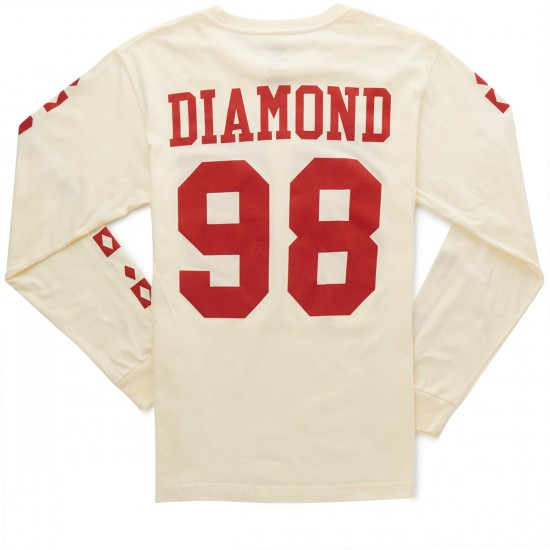 Diamond Supply Co. Alps Long Sleeve T-Shirt - Cream