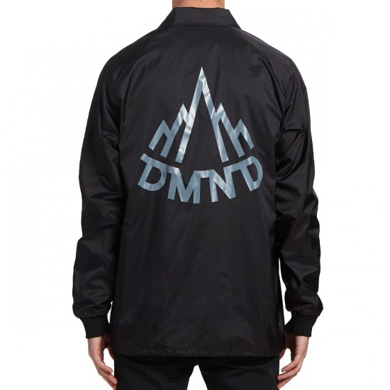 Diamond Supply Co. Mountaineer Coaches Jacket - Black