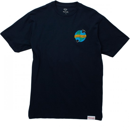 Diamond Supply Co. Pandemic T-Shirt - Navy
