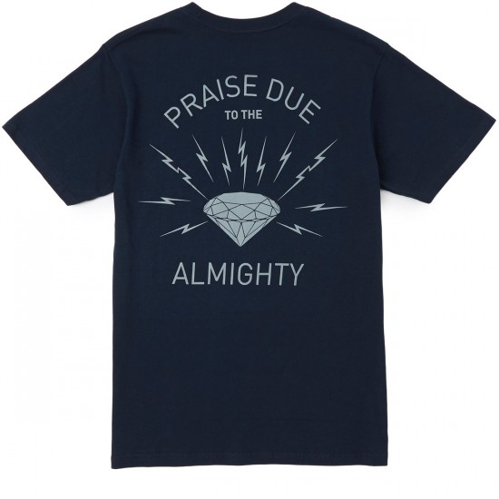 Diamond Supply Co. Worship T-Shirt - Navy