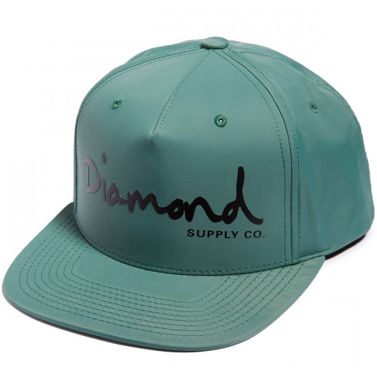Diamond Supply Co. OG Script Hat - Green