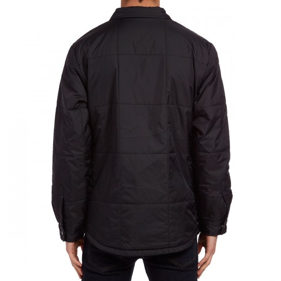 Diamond Supply Co. Puffer Shirt Jacket - Black