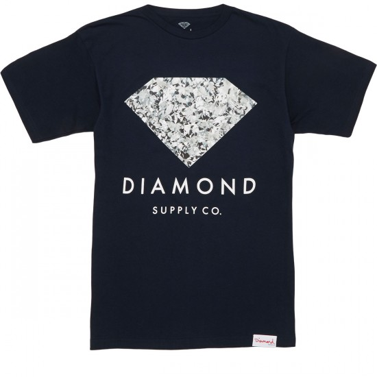 Diamond Supply Co. Infinite T-Shirt - Navy