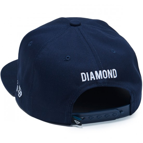 Diamond Supply Co. Brilliant Snapback SP 17 Hat - Navy