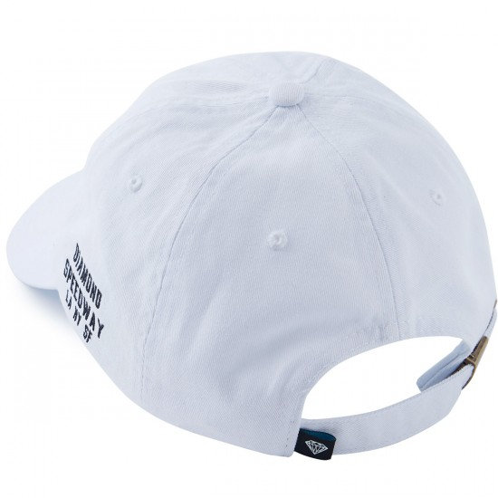 Diamond Supply Co. Micro Brilliant Sports Hat - White