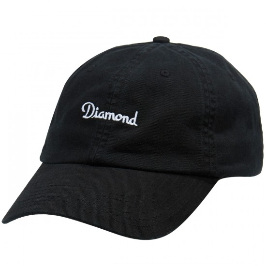 Diamond Supply Co. Champagne Sports Hat - Black