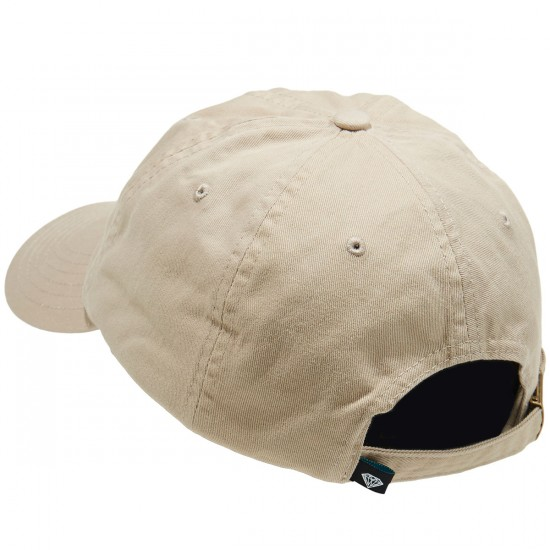 Diamond Supply Co. Champagne Sports Hat - Tan