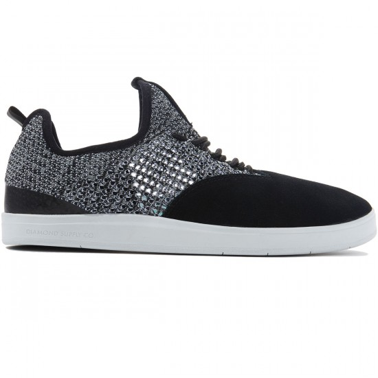 Diamond Supply Co. All Day Shoes - Black/White - 8.0