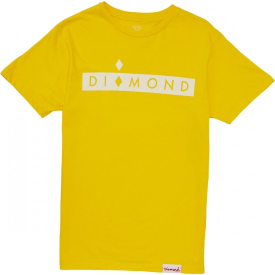 Diamond Supply Co. Starboard T-Shirt - Banana