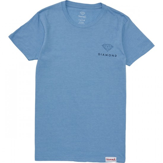Diamond Supply Co. Futura T-Shirt - Slate