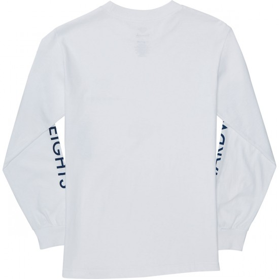 Diamond Supply Co. Futura Sign Long Sleeve T-Shirt - White